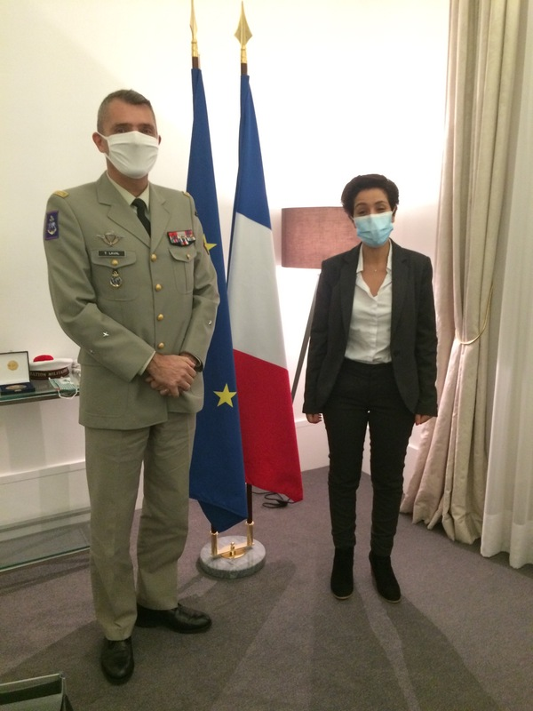 visite general secretaire etat