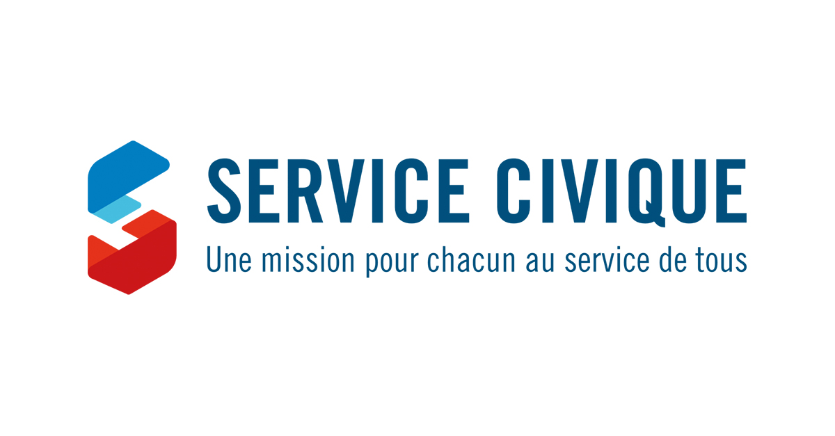 logo service civique 2 0